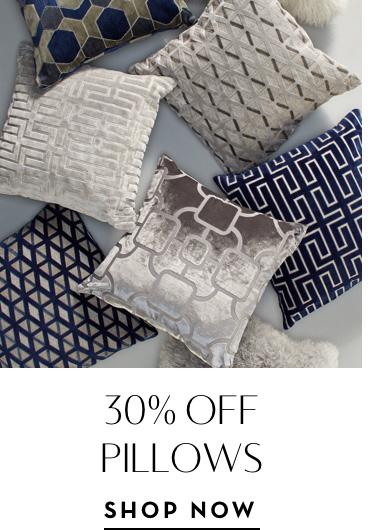 30% Off Pillows
