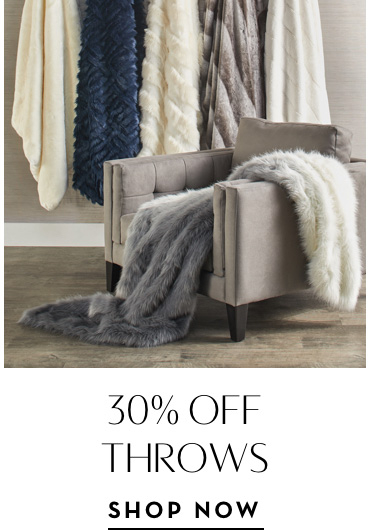 30% Off Throws