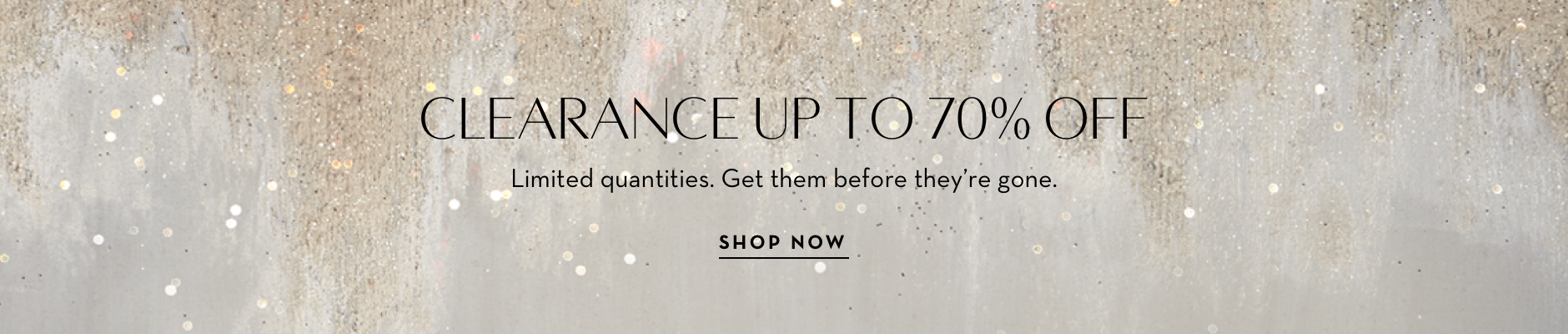 Up to 70% off Sale - Limited Time