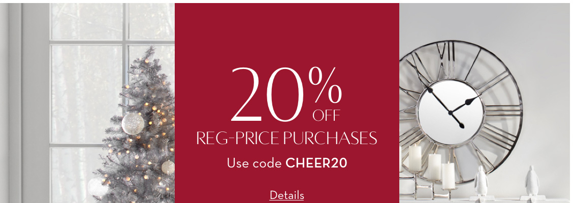 20% Off - Limited Time