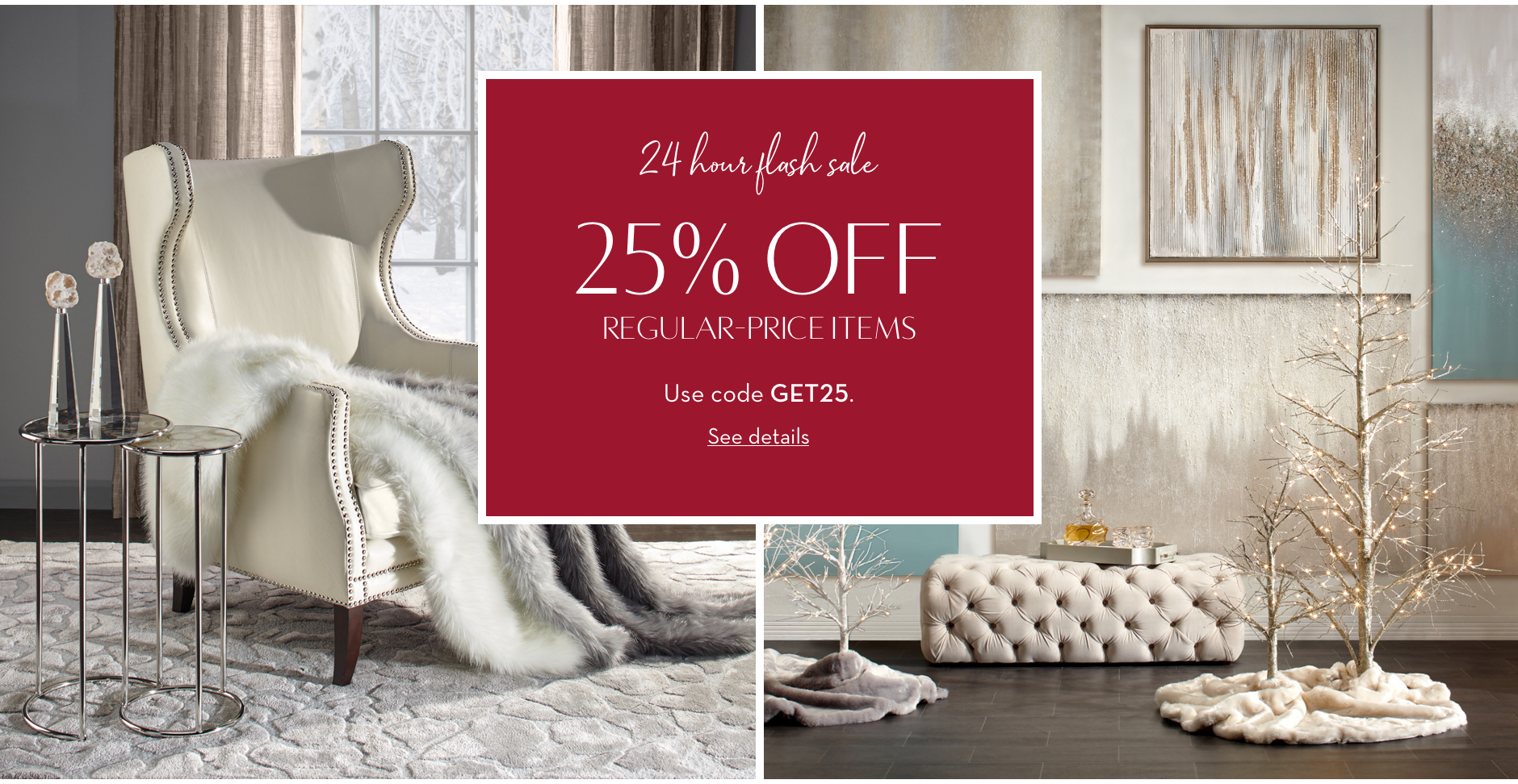 Save on home decor - Limited Time