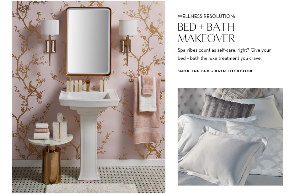 Shop the Bed + Bath Lookbook