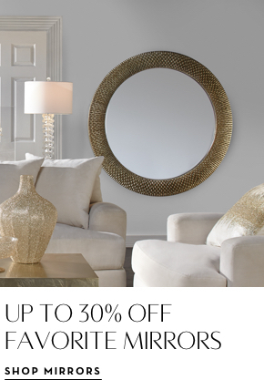 30% off Favorite Mirrors