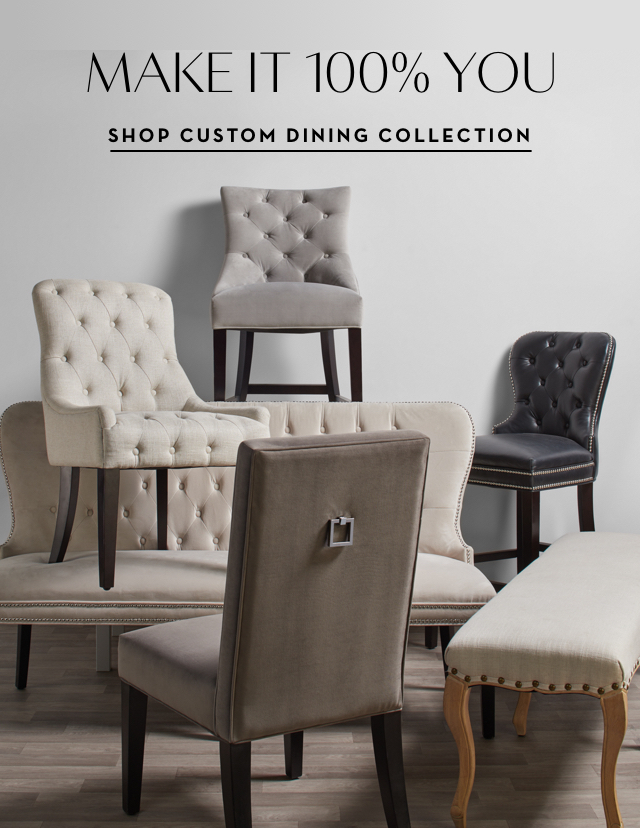 Shop Custom Dining Collection
