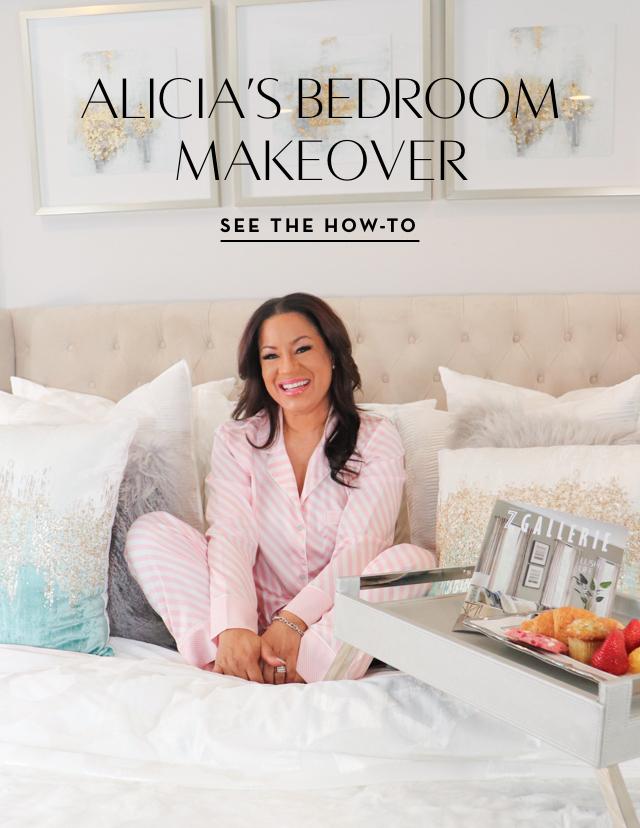 Alicia's Bedroom Makeover