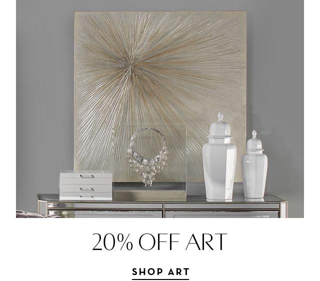 20% off Art