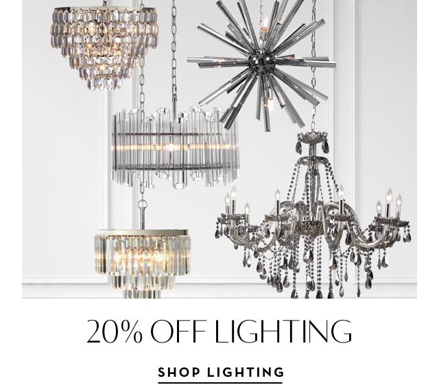 20% off Lighting