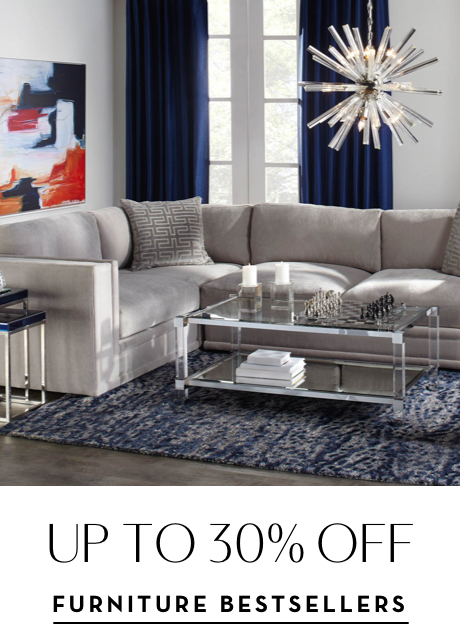 Up to 30% off Furniture Bestsellers