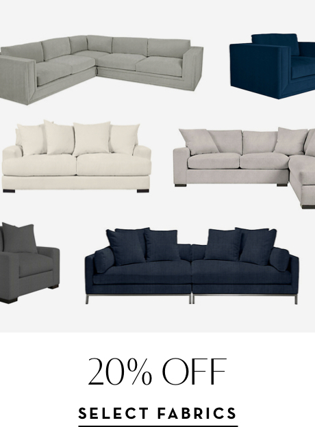 20% off Select Fabrics