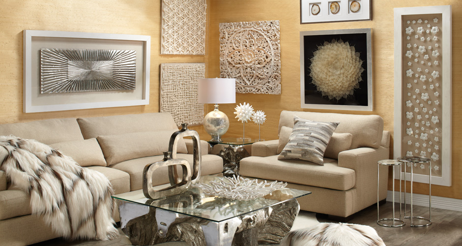 Dimensional Living Room Inspiration