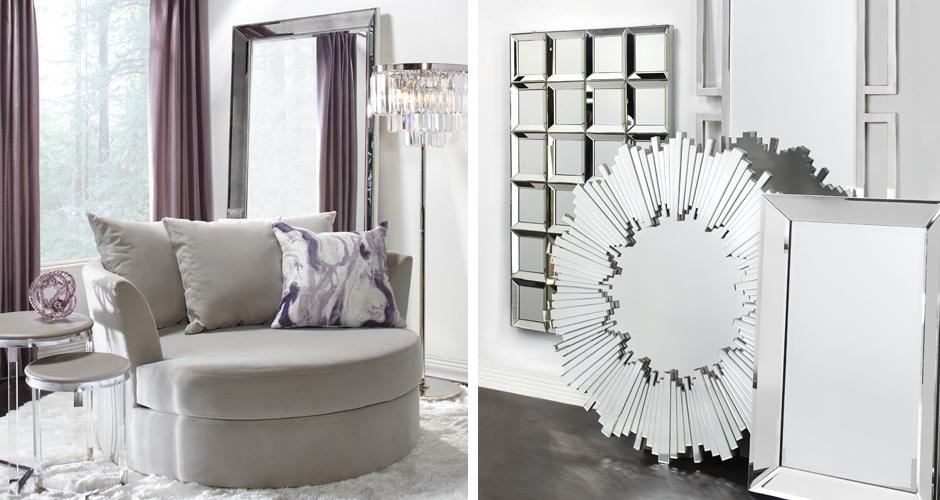 Cuddler Mirror Living Room Inspiration