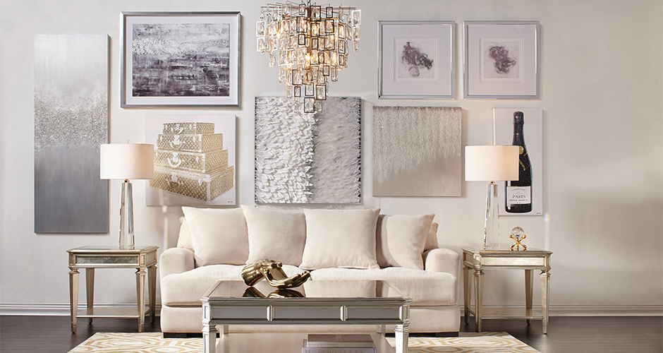 Stella Gallery Wall Living Room Inspiration