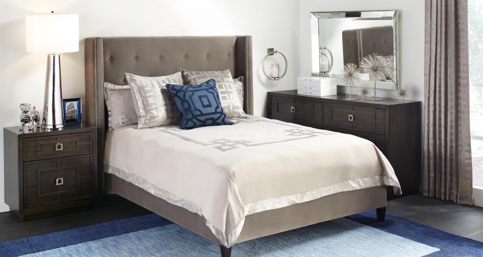 Sapphire Porter Bedroom Inspiration