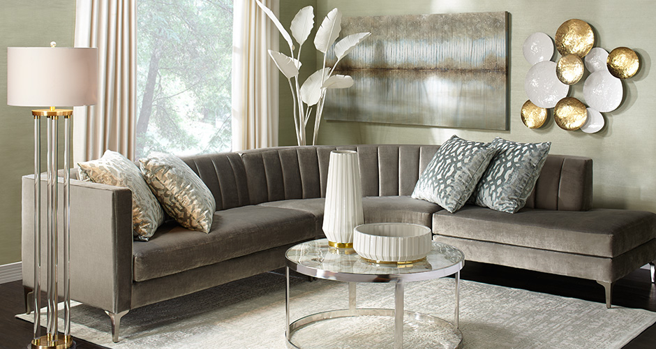 Crestmont Sectional Living Room Inspiration