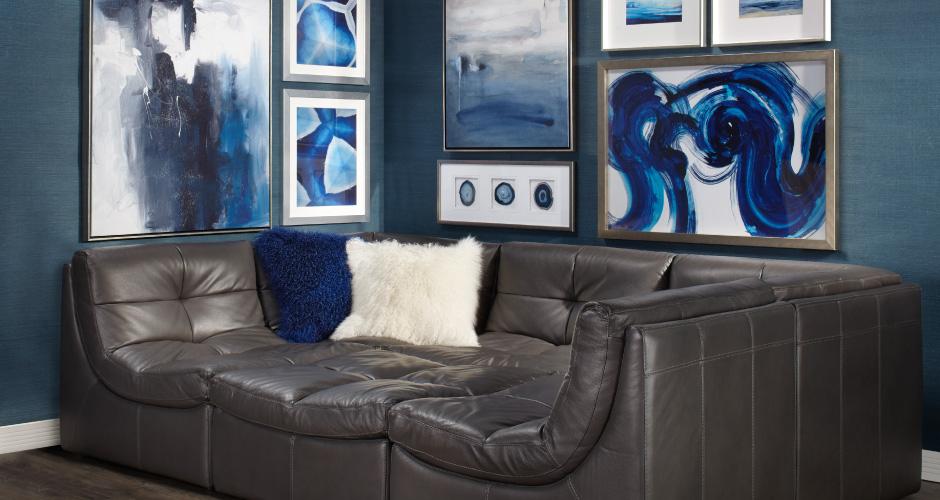 Modern Cloud Gallery Living Room Inspiration