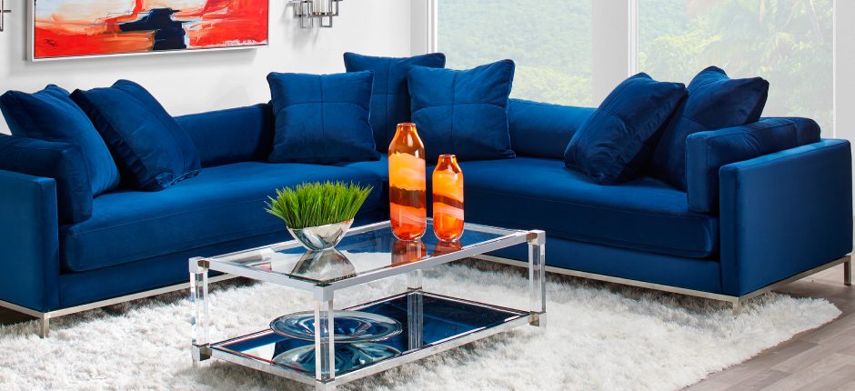 Sapphire Ventura Living Room Inspiration