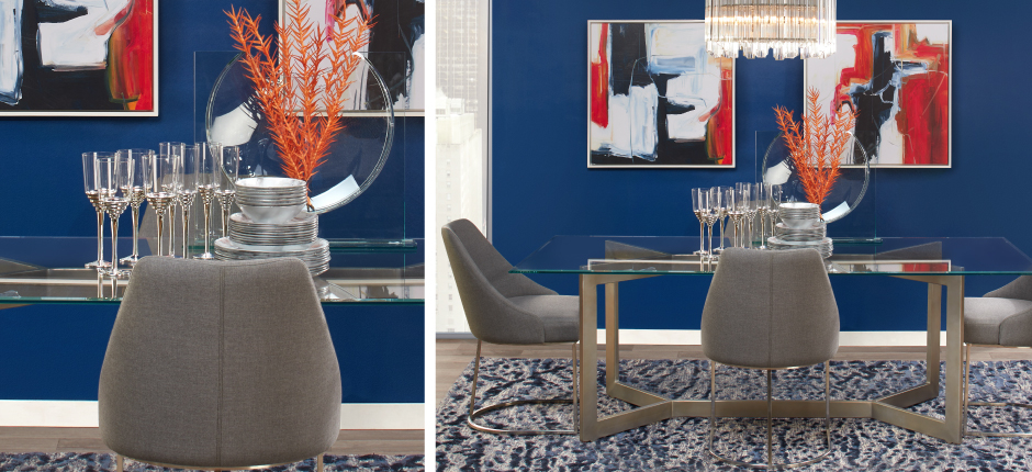 Sapphire Brooklyn Dining Room Inspiration