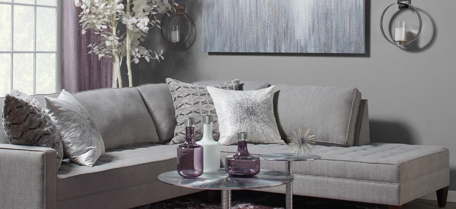 Amethyst Vapor Living Room Inspiration