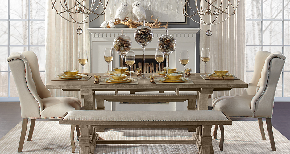 Archer Fresco Dining Room Inspiration