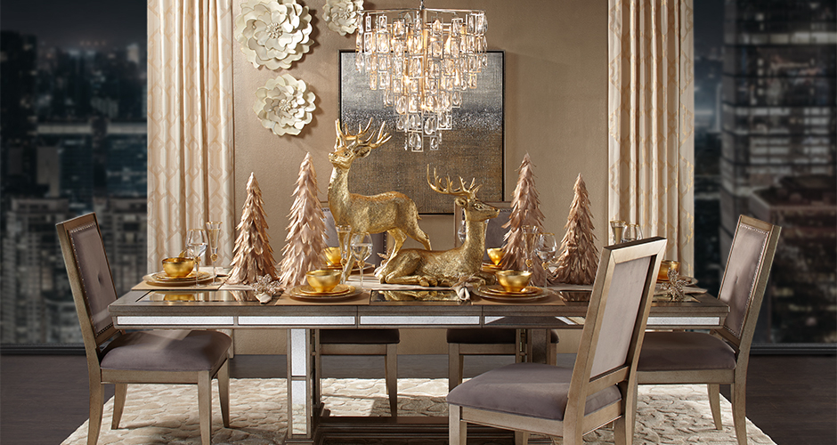 Ava Valentina Holiday Dining Room Inspiration