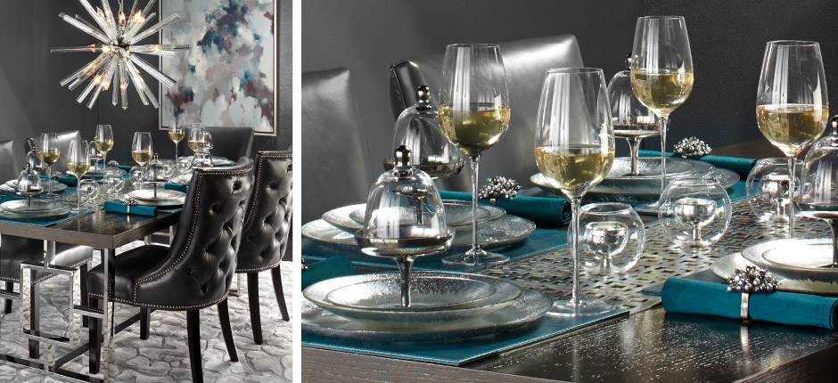 Leather Rylan Dining Room Inspiration