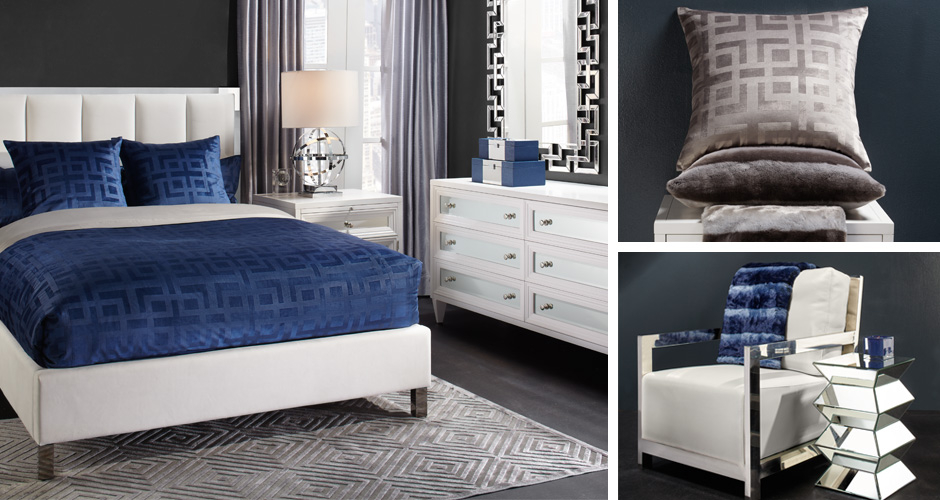Emory Acrylic Bedroom Inspiration