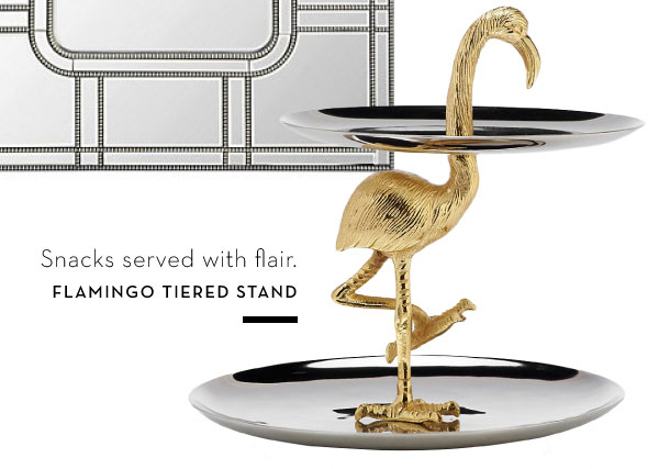 Flamingo Tiered stand