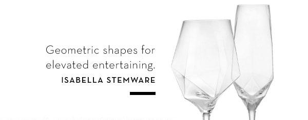 Isabella Stemware