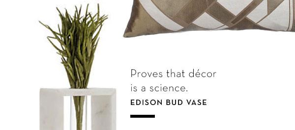 Edison Bud Vase