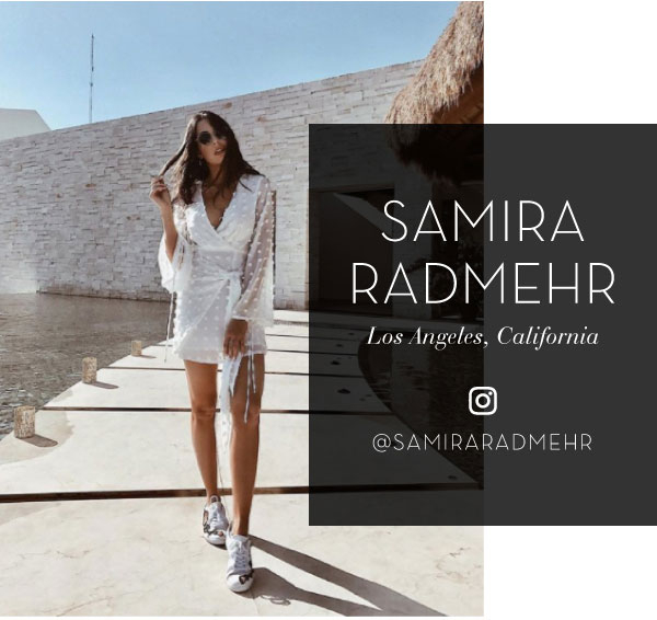 Samira Radmehr on Instagram