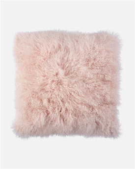 Pink Mongolian Pillow
