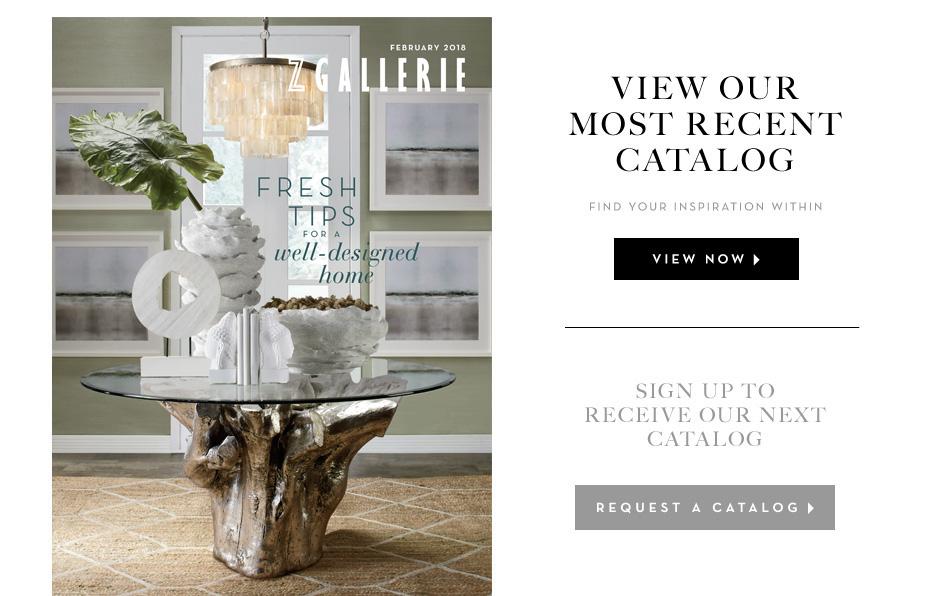 Current Catalog Z Gallerie