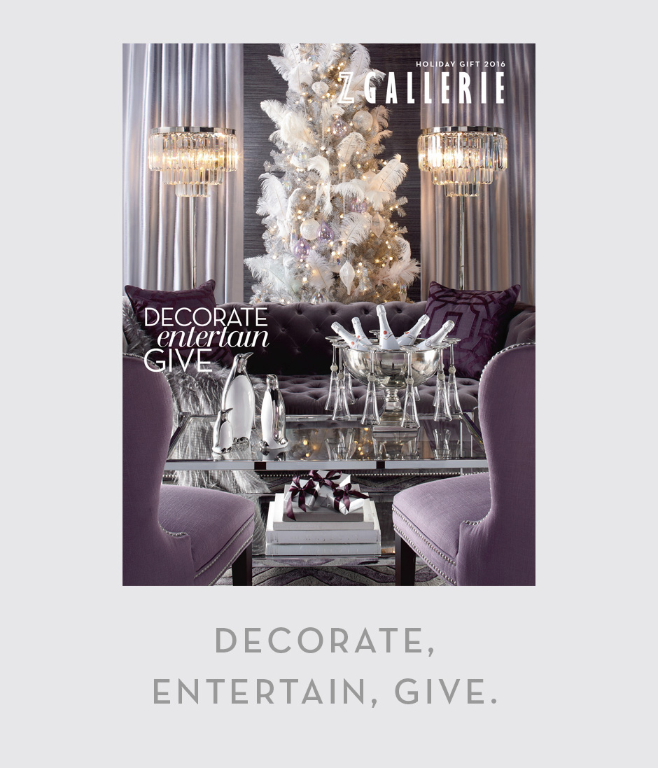 Decorate. Entertain. Give.