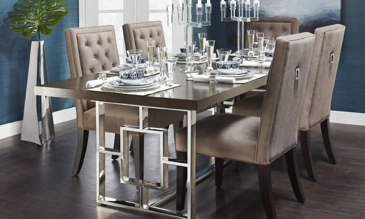 C 918 Rylan Extending Table Dining Room Inspiration