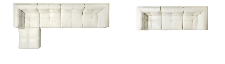 5-piece and 3-Piece Sectional configurations