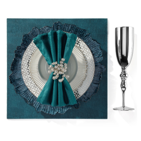 soirée Dinnerware with Gemma Stemware. Get the look >