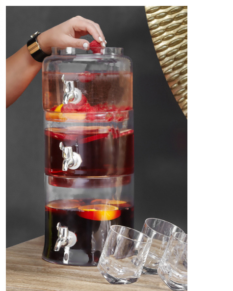 The Trio Beverage Dispenser