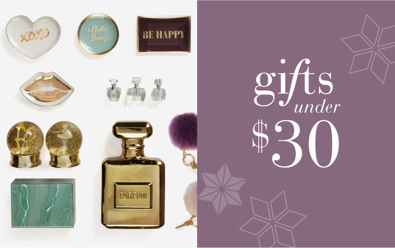 Gifts For Under $30