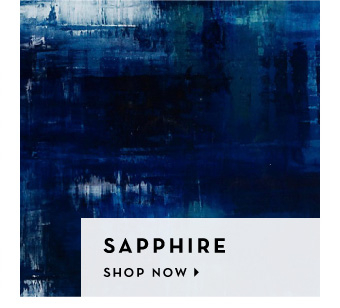We love color - Sapphire - Shop Now