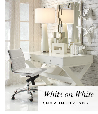Spring Trends - White on White