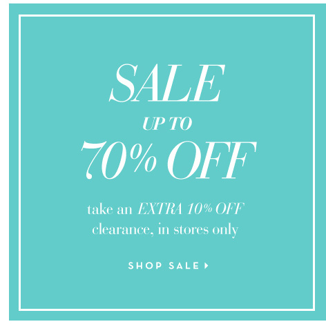 Take an Exra 10% off clearance items. In store only. Shop Sale >