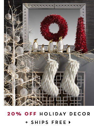 Shop: Holiday Decor