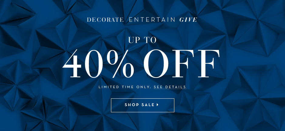Gift in Style. Save up to 40%
