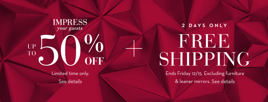 Gift in Style. Save up to 50%