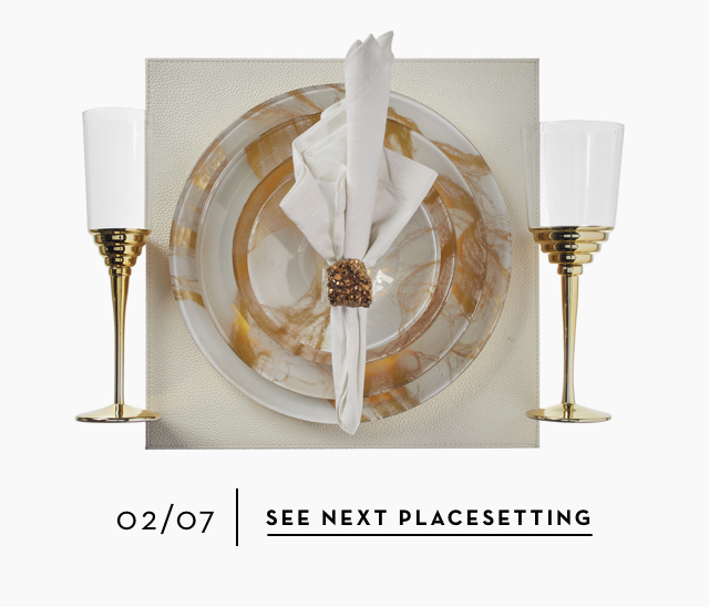 Summer/Spring 2019 Place Settings