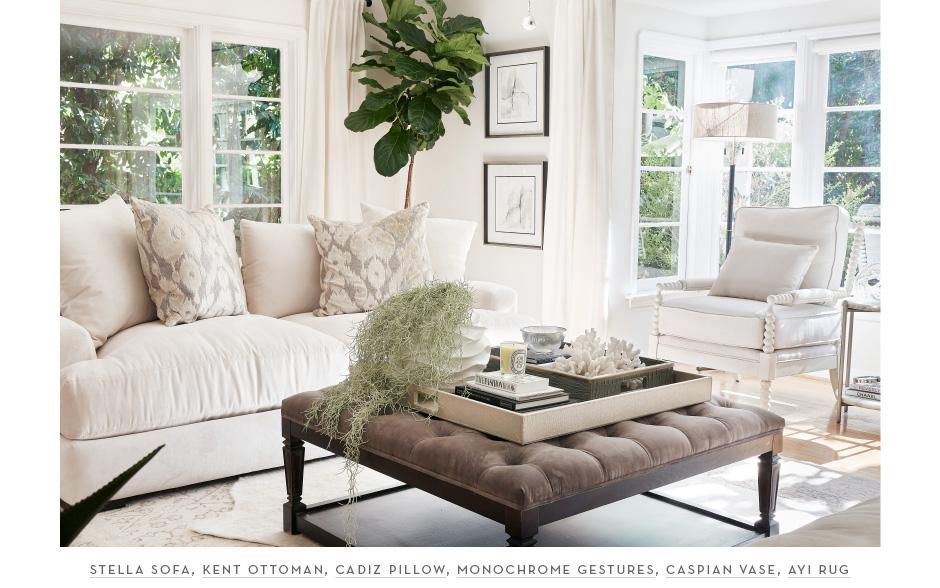 Sazan's new glam livingroom
