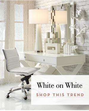 Trend - White on White