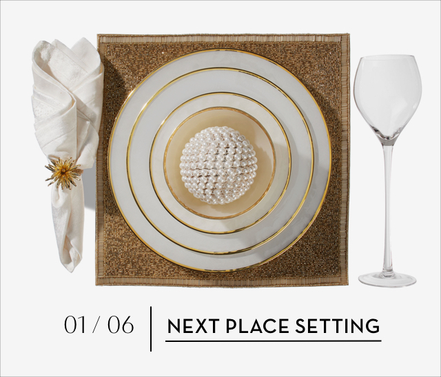 Holiday 2019 Place Settings