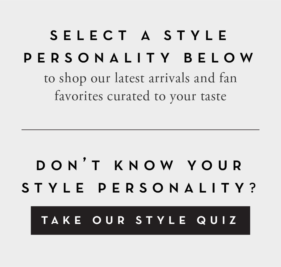 Take the Style Quiz